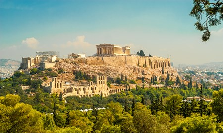 The Acropolis and its surroundings