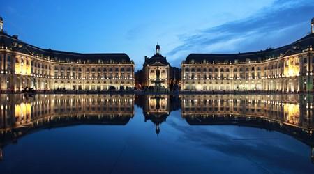 Place de la Bourse and the Water Mirror