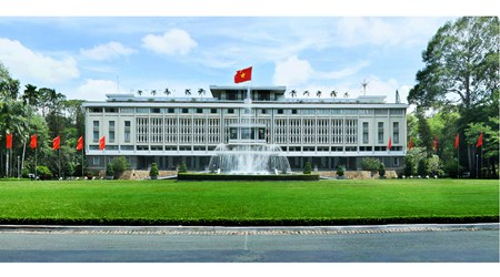 The Independence Palace(Dinh Doc Lap)