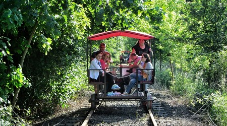 Trolley Rail in Mosina