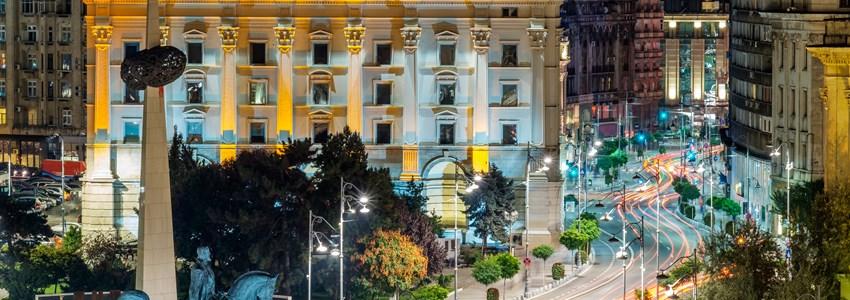Bucharest night