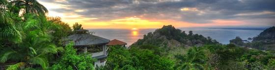 HDR Sunset, Costa Rica