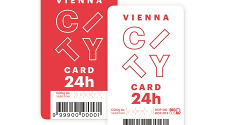 Vienna City Card. The official Vienna Card.