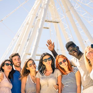 Photo with Ferris wheel / View Apart/Shutterstock.com