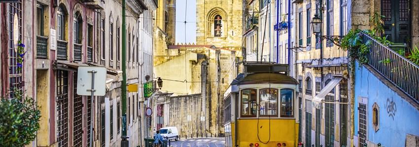 Lisbon, Portugal tram.