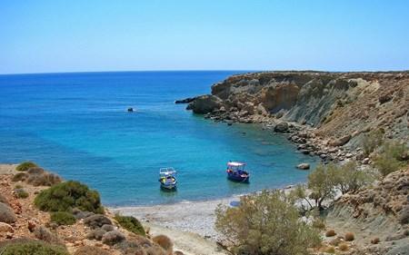 The beaches of Makrigialos