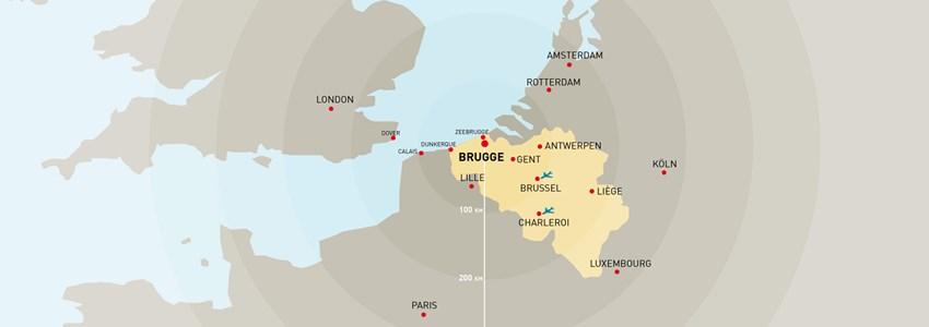 Brugge in Europa