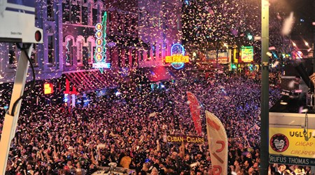 NYE on Beale Street (December)