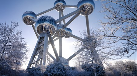 The Atomium - Monument and Symbol Built for Expo 58