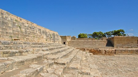 Minoan city of Phaistos