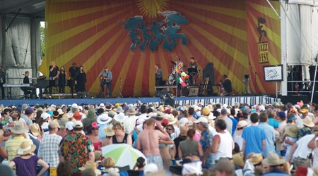 New Orleans Jazz and Heritage Festival (April-May)