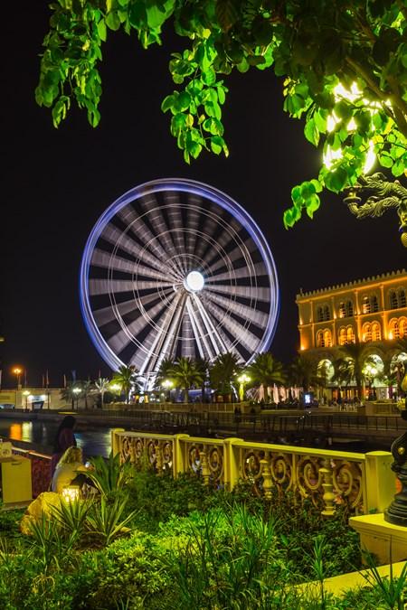 Al-Qasba & Eye of the Emirates Wheel
