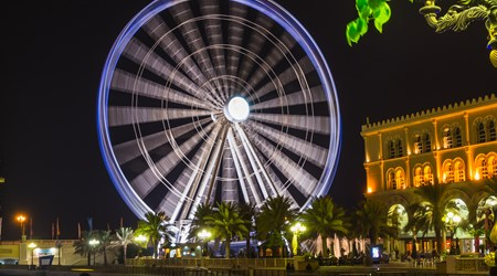 Al-Qasba & Eye of the Emirates Wheel
