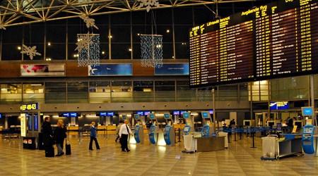 Arriving in Helsinki