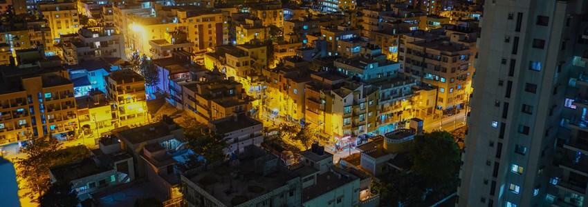Bangalore by night