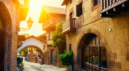Poble Espanyol Crafts and Shopping Center