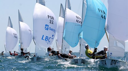 Sailing - The International Mediterranean Friendship Cup for 420 dinghies