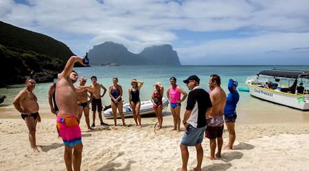 Ocean Swim Week with Trevor Hendy: Pinetrees Lord Howe Island