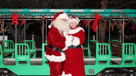 Irvine Park Railroad's Annual Christmas Train