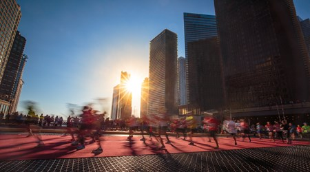 Chicago Marathon (October)