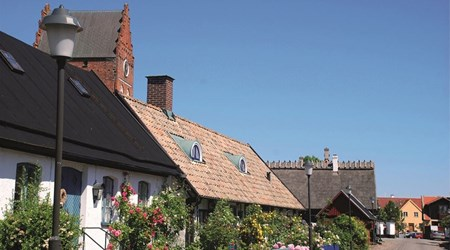 Åhus - a medieval town