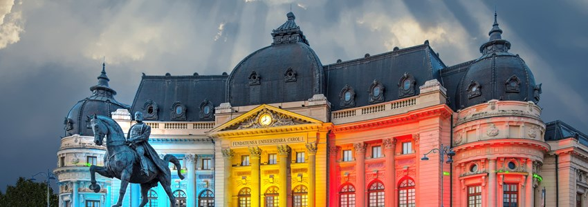 National Library - Bucharest, Romania