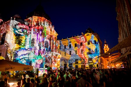 Zsolnay-Light-Festival