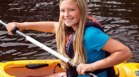 Canoe in Sälen