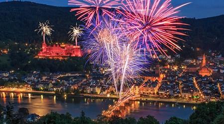 Heidelberger Schlossbeleuchtungen (Castle Illuminations)