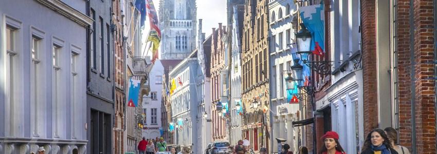 Shopping in Hoogstraat