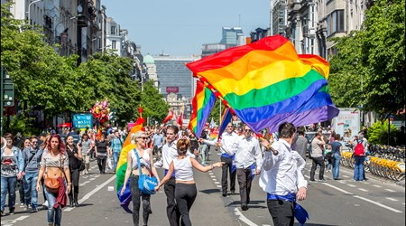 Pride Festival in Brussels