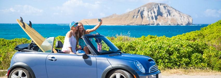 road trip hawaii to beach