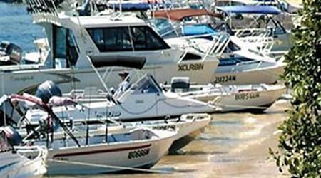 Club Marine Trailer Boat Fishing Tournament