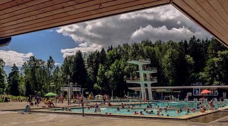 Kumpula outdoor swimming pool