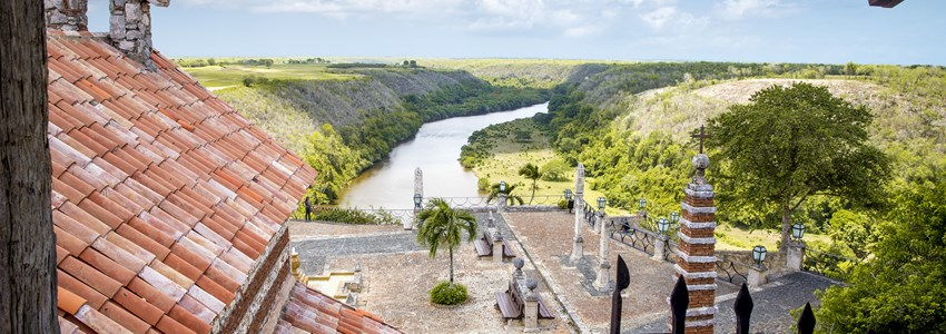 La Romana view from Altos de Chavon