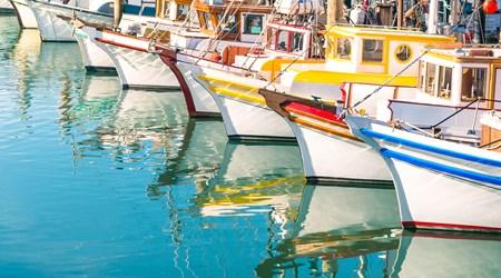 Agios Nicolaos Fishing Harbour
