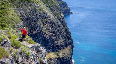 Seven Peaks Walk at Pinetrees Lord Howe Island