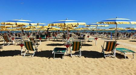 The Beach and Viale della Riviera