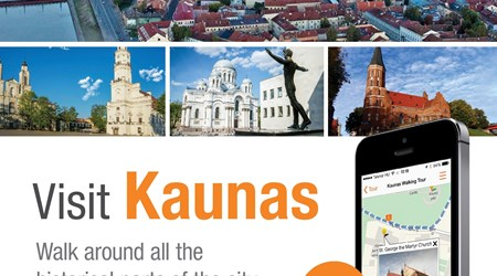 Kaunas City audio guide in your smartphone
