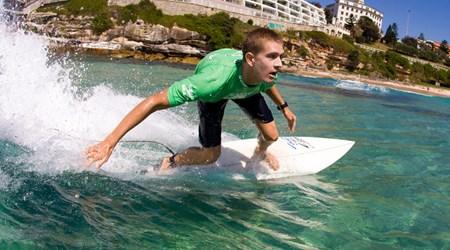 Surf beaches
