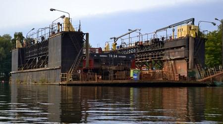 The oldest floating dock