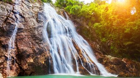 Na Muang Waterfalls