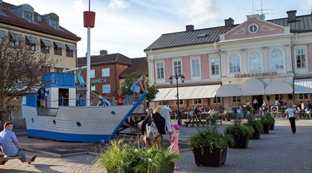 Vimmerby Torg and Storgatan