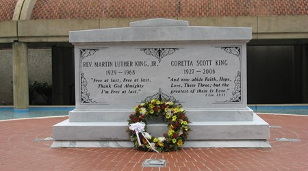 The Martin Luther King Jr National Historic Site/The King Center
