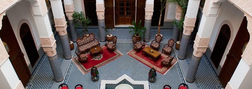 Riad, Fez, Morocco
