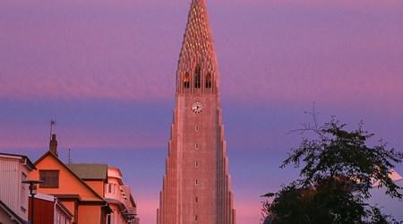 The Hallgrimskirkja Church