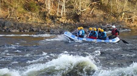 Ljungan white-water rafting