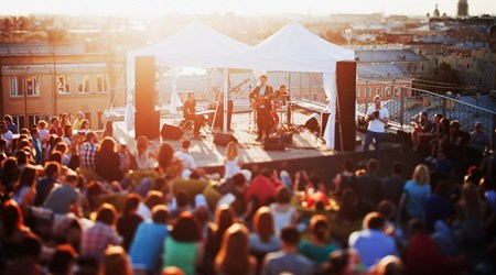 All year round: Roof Music Fest