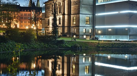 The Kunsthalle art gallery
