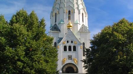 Russian Memorial Church St Alexej